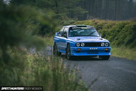 bmw rally improving a legend a modern e30 m3 rally car speedhunters