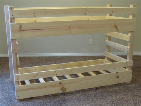 homemade bunk beds pdf woodwork homemade bunk bed plans download diy plans