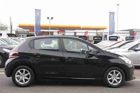 peugeot two door car peugeot 2014 208 5 door 1 2 vti 82 active black car for sale