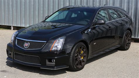 cadillac cts  wagon review fastest  handling