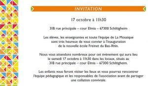 Modèle De Lettre D Invitation à Une Inauguration Inauguration La Mosa 239 Que