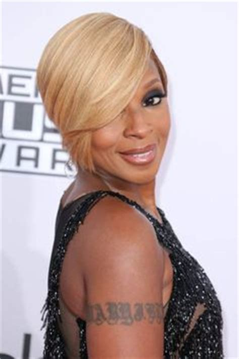 photos of black hairstyles mary j bliges sophisticated bob 1000 images about short haircuts and hairstyles on