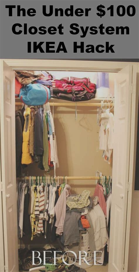 closet organizers ikea cool ways to organize your bedroom organize your closets with this under 100 00 closet