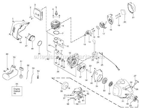 poulan pro parts diagram poulan pp125 parts list and diagram ereplacementparts