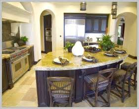 Curved Island Kitchen Designs by Modern Curved Kitchen Island Home Design Ideas