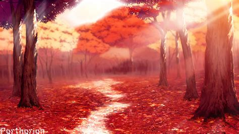 anime fall anime fall wallpapers wallpapersafari