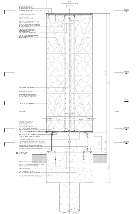 house plans with window walls glass wall plan house in the garden dallas by cunningham
