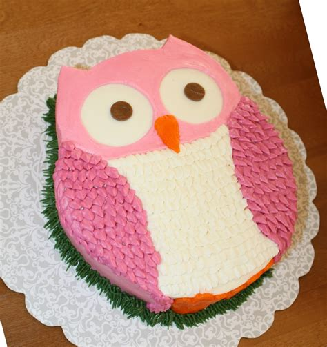 image gallery owl cake template