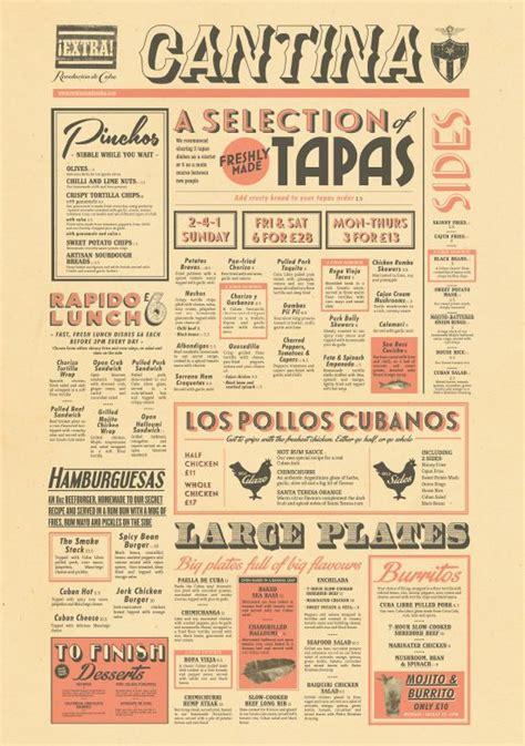 tapas menu template 1000 ideas about tapas bar on tapas
