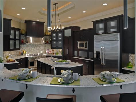family kitchens photo page hgtv
