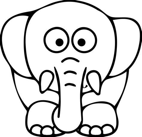 Elephant Coloring Page by Black 18 Elephant Coloring Pages Free Printables