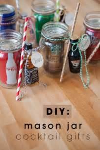 diy mason jar cocktail gifts for men