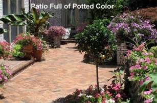 how to bring color to your patio from terrace to