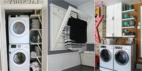 Small Laundry Room Storage Organize Laundry Room Luxury Home Design