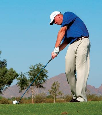 hip rotation in golf swing impact driver vs iron golf tips magazine