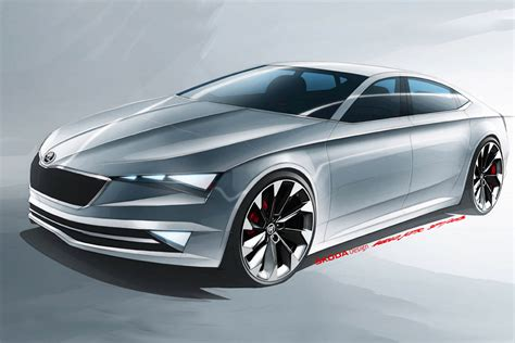 skoda vision c concept shows the brand s sporty side