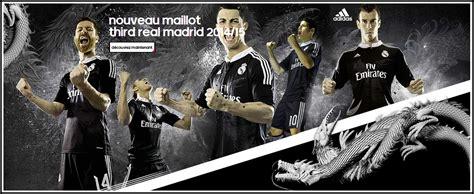 Jaket Bola Grade Ori Real Madrid 3rd Black Official 2016 2017 jersey real madrid 3rd third 2014 2015 big