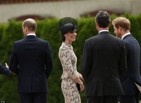 Prince Is Moving To Europe by David Cameron And Royal Family Stand Side By Side With