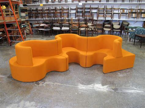 Orange Couches For Sale by Orange For Sale Home Divani Casa Modern Orange And