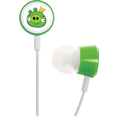 Gear4 Tweeters Earphone gear4 angry birds tweeters headphones pig king hab003g b h