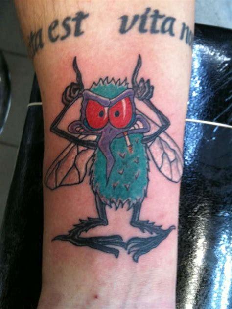 ac dc logo tattoo fly on the wall tattoo