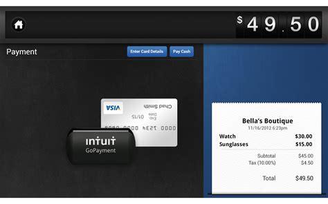 Intuit Gift Cards - intuit gopayment screenshot