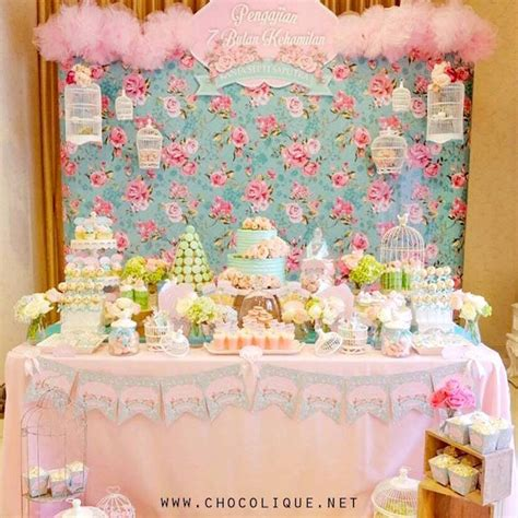 shabby chic baby shower ideas kara s ideas shabby chic baby shower kara s