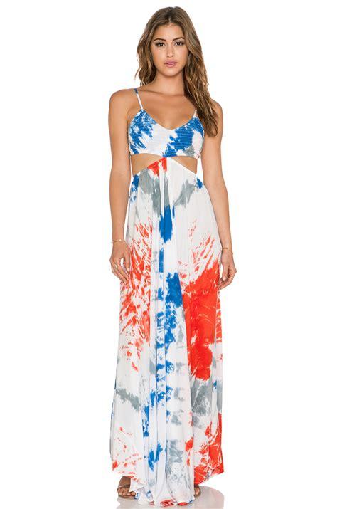 Dress Indah indah innocence cutaway maxi dress in white lyst