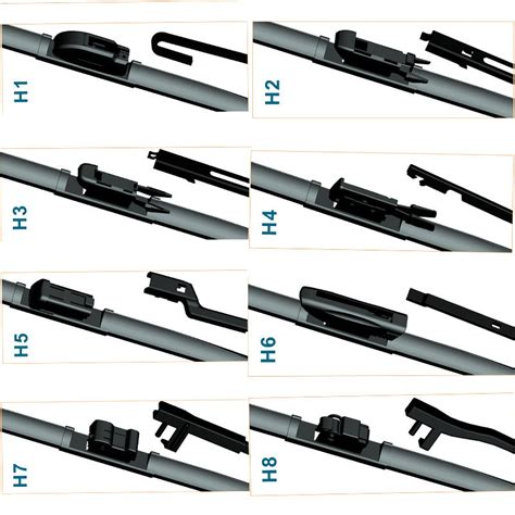 Raiton Wiper Blade 20 Inch 500 Mm bosch 3397118979 wiper blade aero kit a979s length