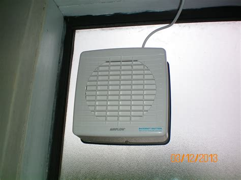 bathroom fan window mounted window exhaust fan installation electrician electrical