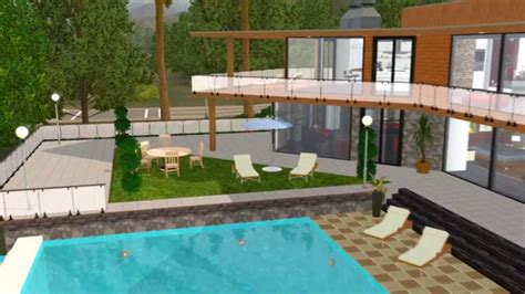 Free Blueprints For Houses the sims 3 house franklin clinton on vinewood hills of the
