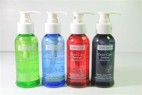 Vitamin Rambut Venon Merah toko kosmetik dan bodyshop 187 archive silkoro color care serum vitamin rambut 200ml