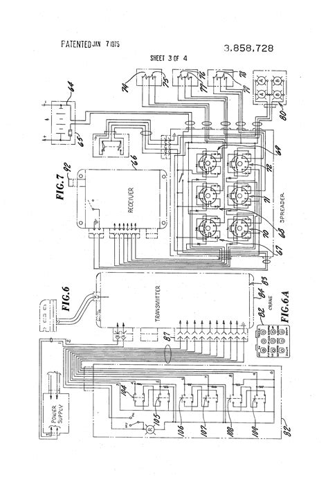 patent us3858728 radio crane and spreader system
