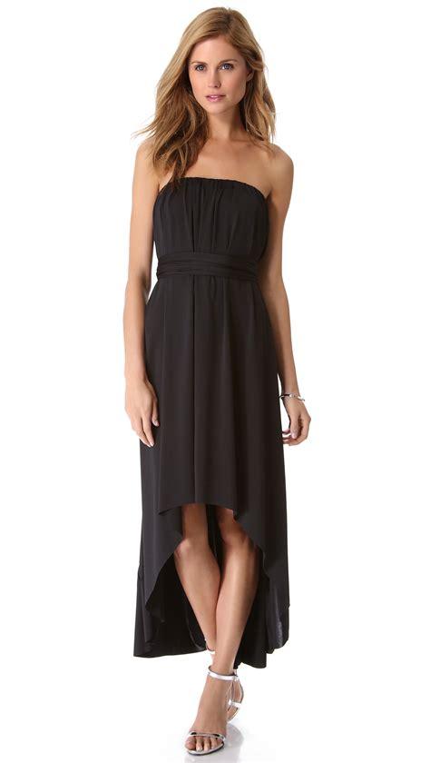 Hi Lo Lyst Twobirds Hi Lo Dress In Black