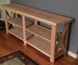 Sofa Table Plans Reuse Repurpose Recycle Lipstickandlumber