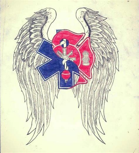 fire ems tattoo publicsafety ems firefighter