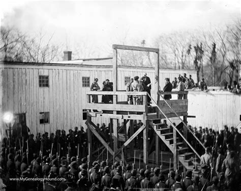 Free Warrant Search Henry County Ga The Execution Of Henry Wirz Commander Of Andersonville Prison 1865 Historic Photos