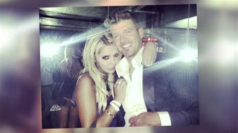 hit it rich fan page news video robin thicke busted grabbing nyc based fan s