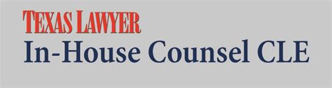 In House Counsel by 05 04 16 In House Counsel Cle Dallas