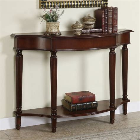cheap console tables black friday powell masterpiece console table with 4