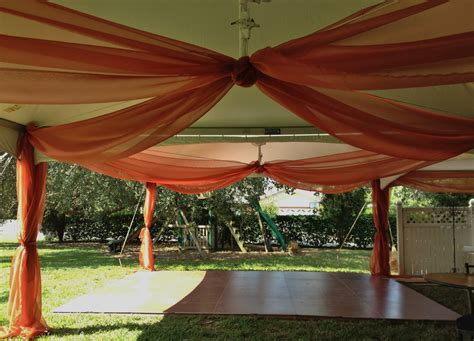 triyaecom backyard wedding tent decorations various