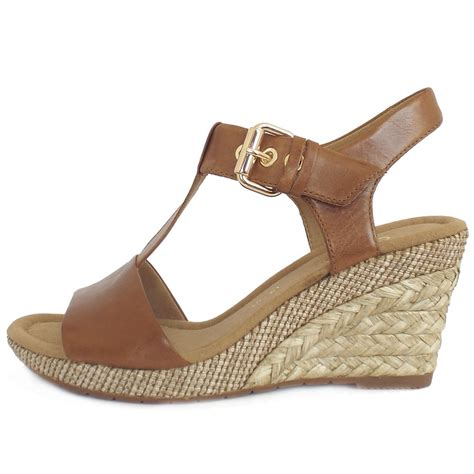 womans wedge sandals gabor s woven effect wedge sandals in