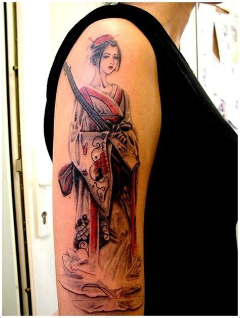 geisha tattoo sleeve designs sleeve geisha tattoo design for women geisha tattoo