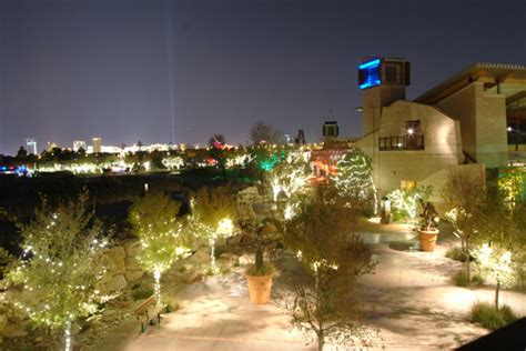 springs preserve lights in paradise the winter lights festival living las