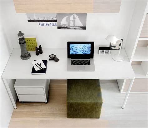 Teen Bedroom Decorating Ideas green white study various kids desks for your kids
