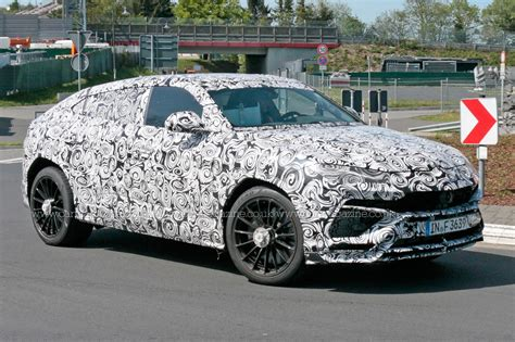 first lamborghini truck new lamborghini urus suv spotted being thrashed around the