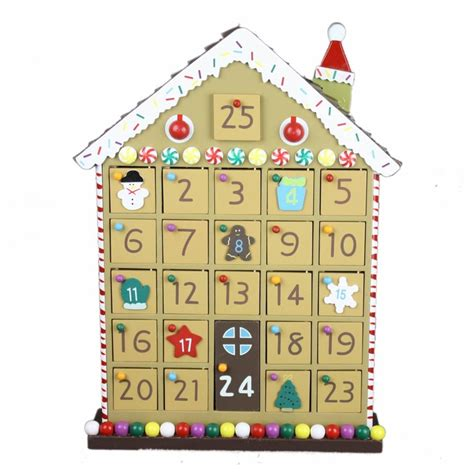 Wooden Advent Calendar House by Wooden Gingerbread House Advent Calendar Stuff To Try