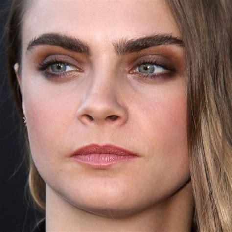 cara delevingne makeup steal her style cara delevingne makeup brown eyeshadow mauve lipstick