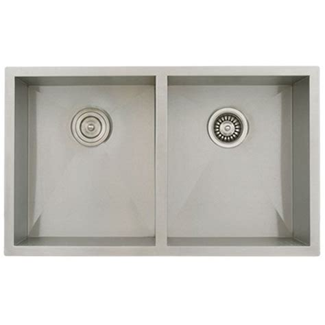 32 undermount bowl 16 stainless