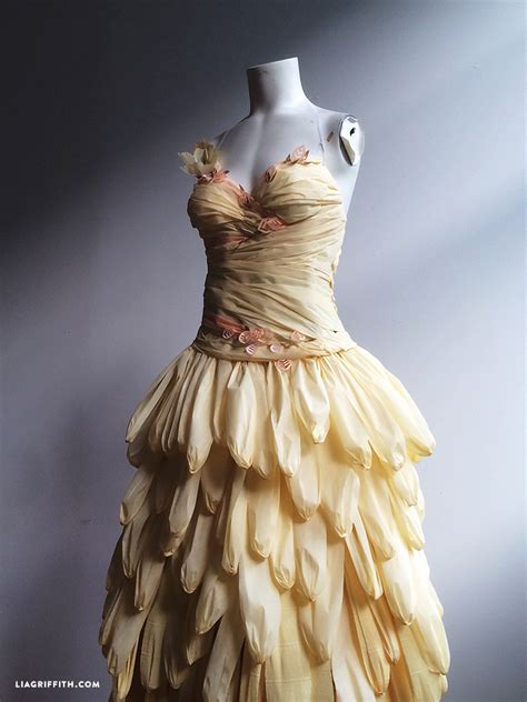 Paper Dresses - my crepe paper dresses lia griffith